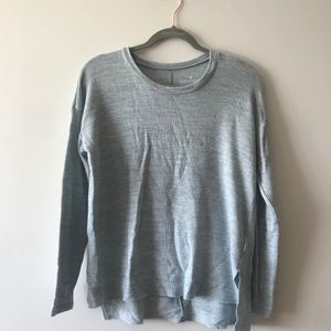 American Eagle Dusty Blue Top